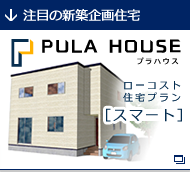 PULA HOUSE プラハウス ローコスト住宅プラン[スマート]